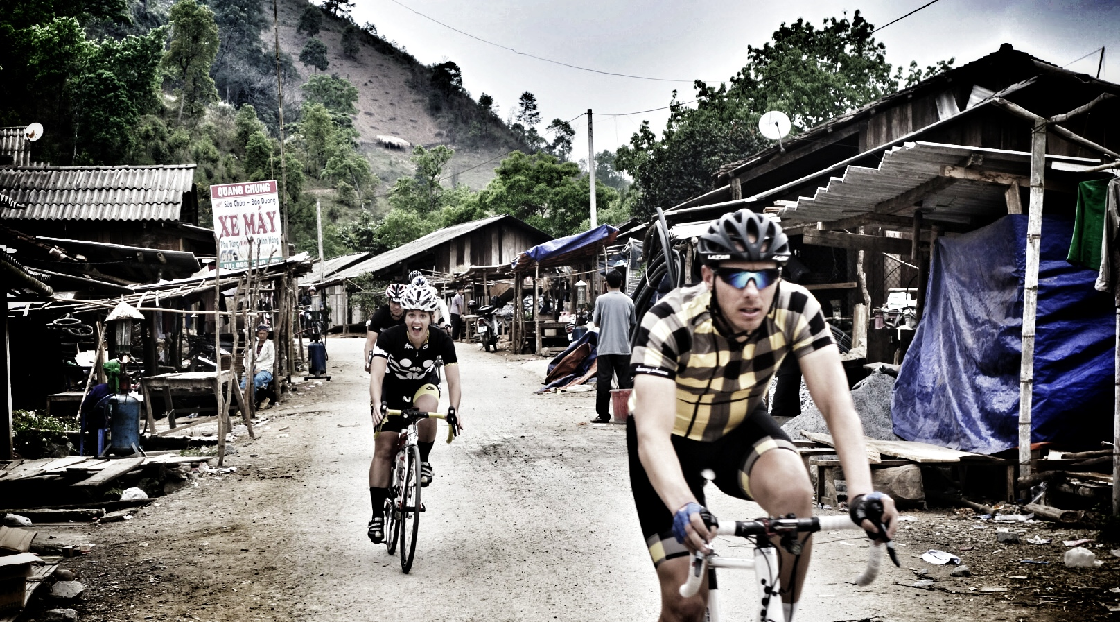 Cycling in Vietnam and Strava segments