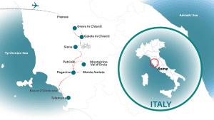 Tuscany strade bianche