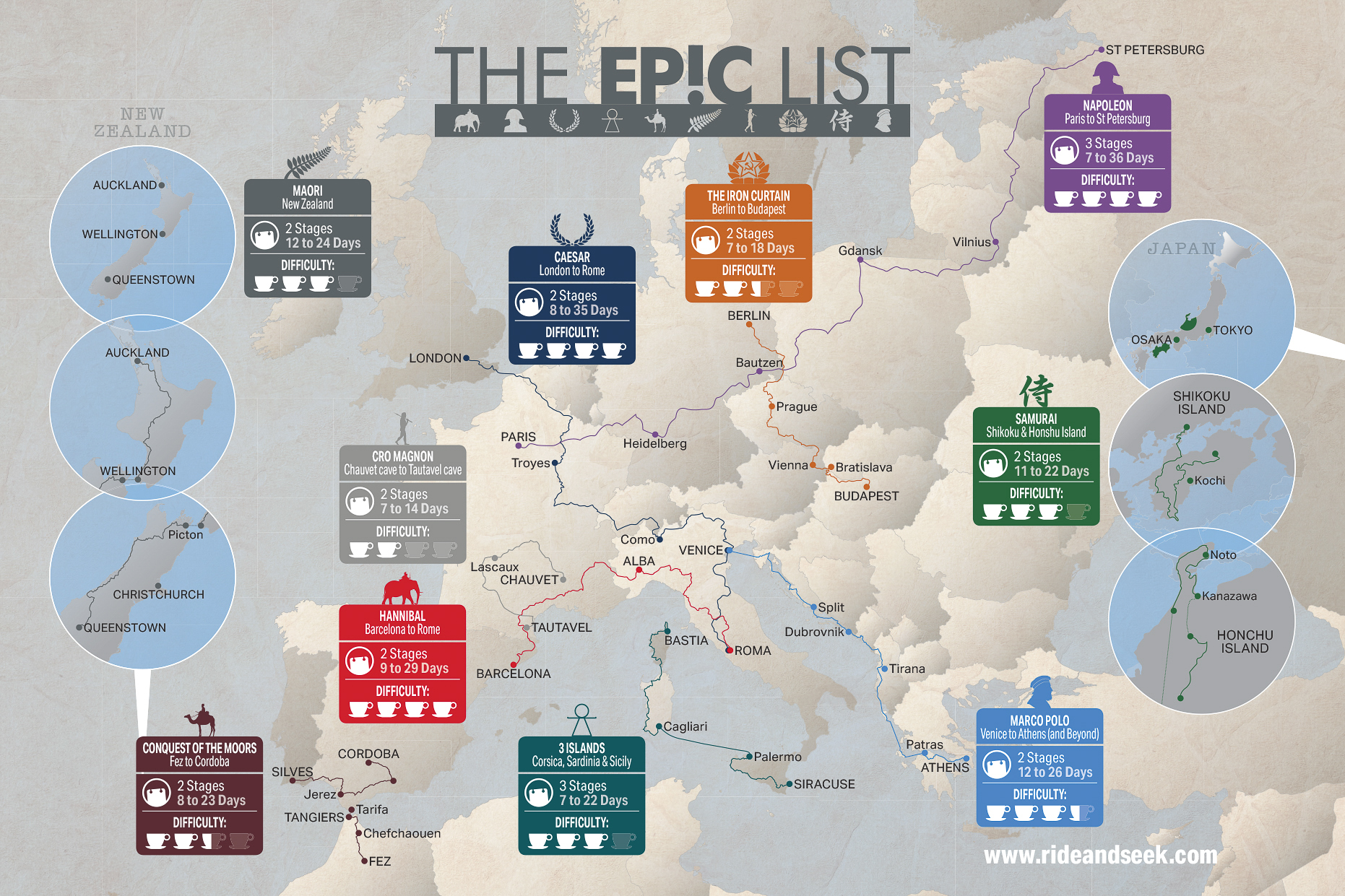 Make It Epic Map